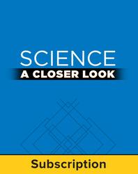 Science, A Closer Look Grade 6, Online Teacher Edition 2011 (6 year subscription)