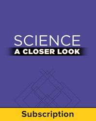 Science, A Closer Look Grade 5, Online Student Edition 2008 (1 year subscription without purchase)