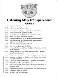 Spotlight on Music, Grade 2, Listening Map Transparencies