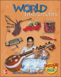 Spotlight on Music, Grades 3-8, World Instruments (30-Computer Site License)