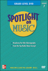 Spotlight on Music, Grade 7, Grade-Level DVD