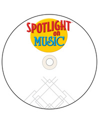 Spotlight on Music, Grades K-2, DVD (Primary)