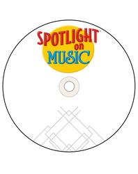 Spotlight on Music, Grades K-4, Learning Music Through Movement Audio CD