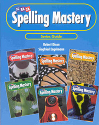 Spelling Mastery Level A-F, Series Guide