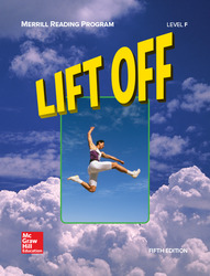 Merrill Reading Program, Lift Off Student Reader, Level F