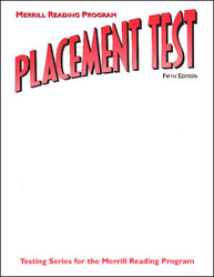 Merrill Reading Program, Placement Test Book, Levels A-H