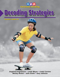 Corrective Reading Decoding Level B1, Teacher Guide