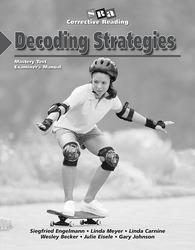 Corrective Reading Decoding Level B1, Mastery Test Package