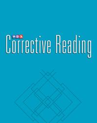 Corrective Reading Decoding Level B1, Blackline Masters