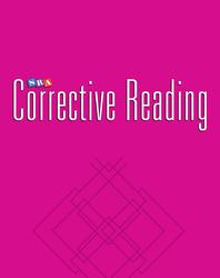 Corrective Reading Decoding Level B2, Blackline Masters