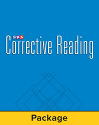 Corrective Reading Comprehension Level A, Student Workbook