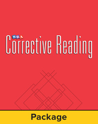Corrective Reading Comprehension Level B1, Mastery Test Package (for 15 students)