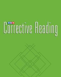 Corrective Reading Comprehension Level C, Teacher Presentation Book 1