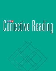 Corrective Reading Comprehension Level C, Student Workbook