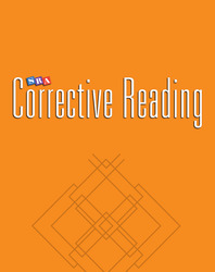 Corrective Reading Decoding Level A, Teacher Material