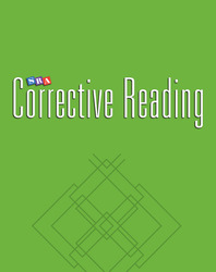 Corrective Reading Decoding Level C, Teacher Materials