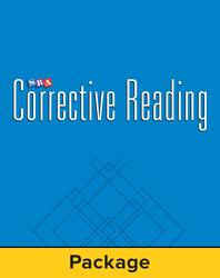 Corrective Reading Comprehension Level A, Student Workbook (Pkg. of 5)