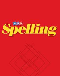 SRA Spelling, Word List Flip Chart, Grade 4