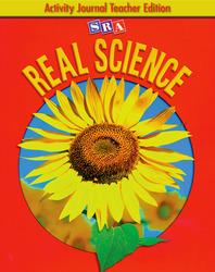 SRA Real Science, Activity Journal Teacher Edition, Grade K