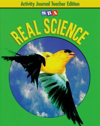 SRA Real Science, Activity Journal Teacher Edition, Grade 2