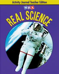 SRA Real Science, Activity Journal Teacher Edition, Grade 4