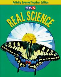 SRA Real Science, Activity Journal Teacher Edition, Grade 5