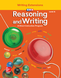 Reasoning and Writing Level A, Writing Extensions Blackline Masters