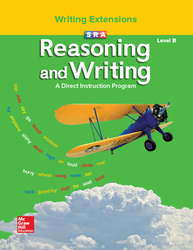 Reasoning and Writing Level B, Grades 1-2, Writing Extensions Blackline Masters