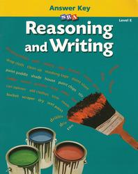 Reasoning and Writing Level E, Additional Answer Key