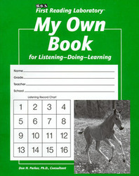 First Reading Laboratory, Additional Student Record Book - My Own Book (Pkg. of 10), Grades K-1