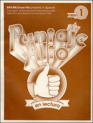 Puntaje Alto en Lectura: Student Edition 1, Grade 1
