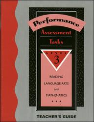 Performance Based Assessment Tasks - Teacher's Edition - Grade 3'