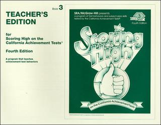 Scoring High on the California Achievement Tests (CAT),  Grade 3 Teacher Edition