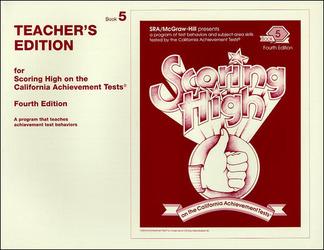 Scoring High on the California Achievement Tests (CAT),  Grade 5 Teacher Edition