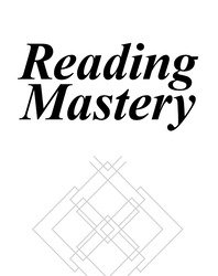 Reading Mastery Fast Cycle I And II 1995 Rainbow Edition, Acetate Page Protector