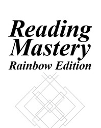 Reading Mastery Rainbow Edition Grades K-1, Level 1, Assessment Manual
