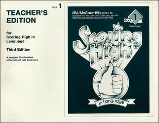 Scoring High in Language Grade 1 Teacher Edition