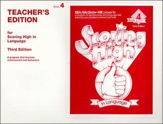 Scoring High in Language Grade 4 Teacher Edition