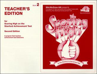 Scoring High on the SAT/9, Teacher Edition, Grade 2