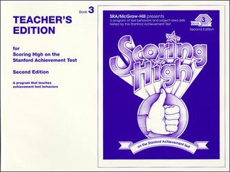 Scoring High on the SAT/9, Teacher Edition, Grade 3