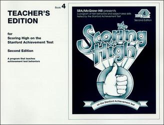 Scoring High on the SAT/9, Teacher Edition, Grade 4