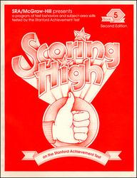 Scoring High on the SAT/9, Student Edition, Grade 5