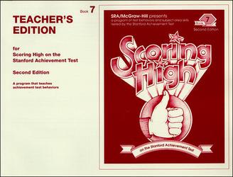 Scoring High on the SAT/9, Teacher Edition, Grade 7