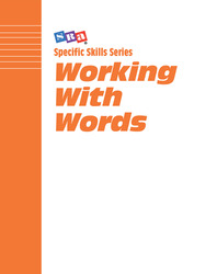 Specific Skills Series, Working with Words, Book G