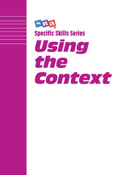Specific Skills Series, Using the Context, Book E