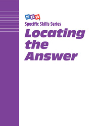 Specific Skills Series, Locating the Answers, Picture Level