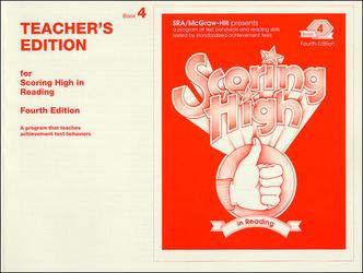 Scoring High in Reading 4th Edition Grade 4 Teacher Edition