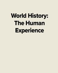 World History: The Human Experience