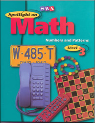 Spotlight on Math, Numbers and Patterns Workbook, Grade 3 (Pkg. of 10)