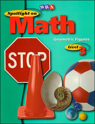 Spotlight on Math, Geometric Figures Workbook, Grade 3 (Pkg. of 10)